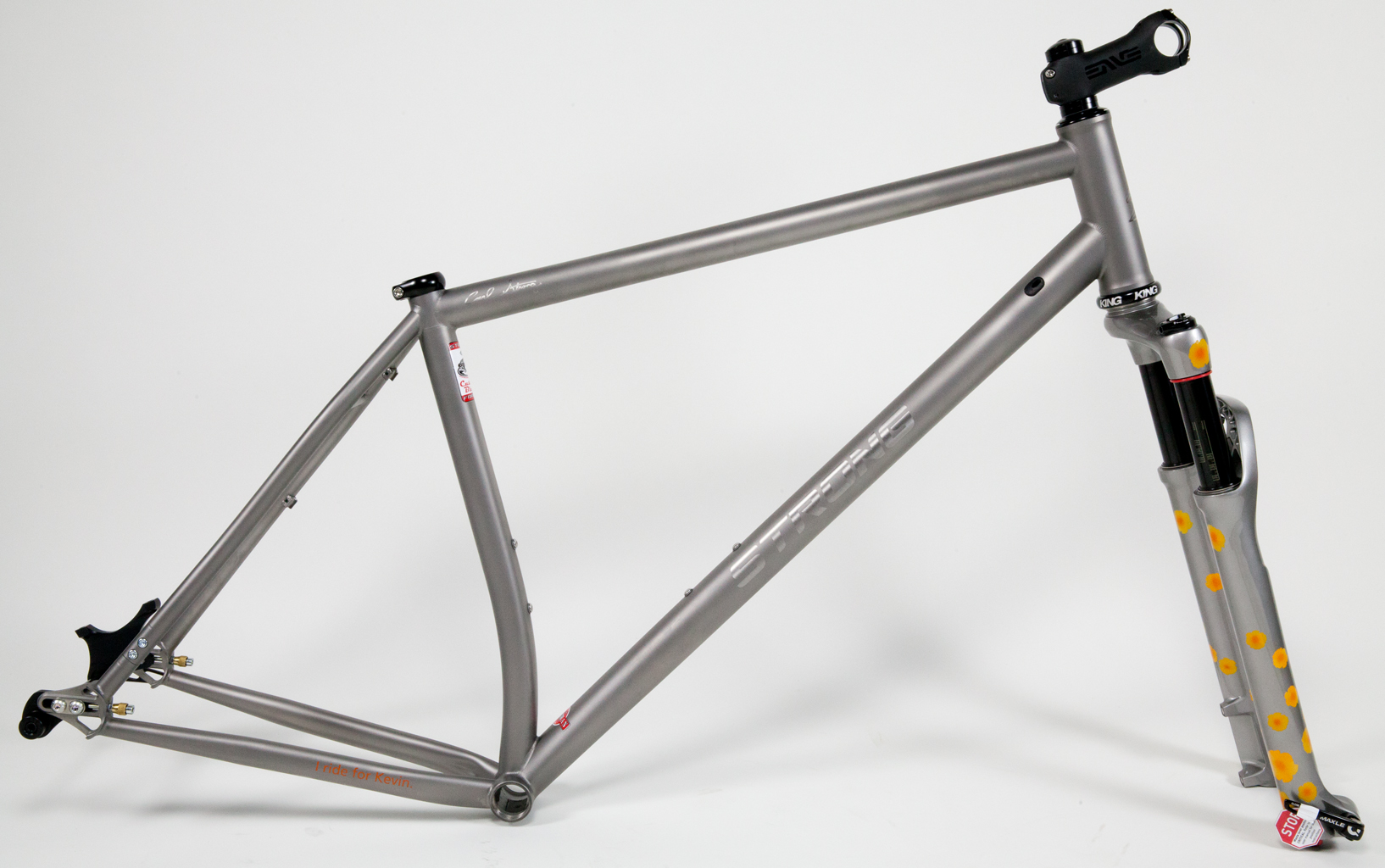 Strong Frames | Titanium Mountain Bike Single Speed 29er