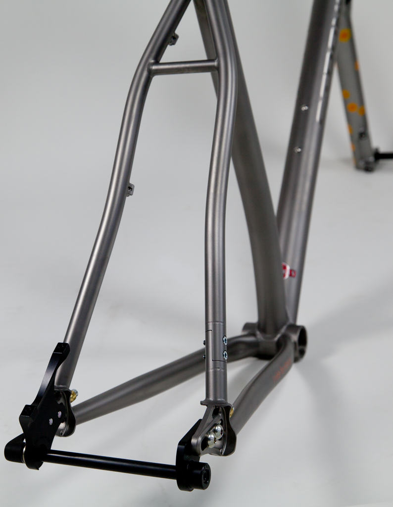 Strong Frames Titanium Mountain Bike Single Speed 29er