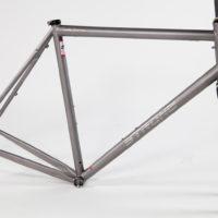Custom Titanium Gravel Road Frame