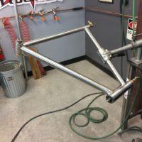 Titanium Road Bike with IS Headtube and Internal Di2