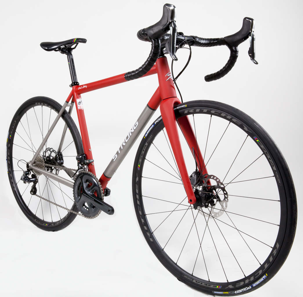 Strong Frames Mike H Titanium Disc Road Bike With Ultegra Di2