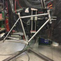 Custom Steel Dirt Road Bike