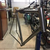 Titanium Disc Brake Road Bike