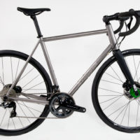 Titanium Disc Road with Di2 and Flat Mount Brakes