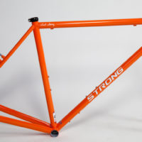 Custom Steel Gravel Frameset