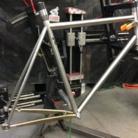 Custom Blend Titanium Disc Road Bike
