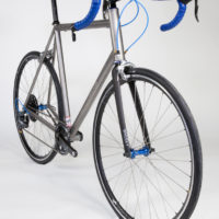 Titanium Road, Long Reach Caliper Brakes for Large Tires