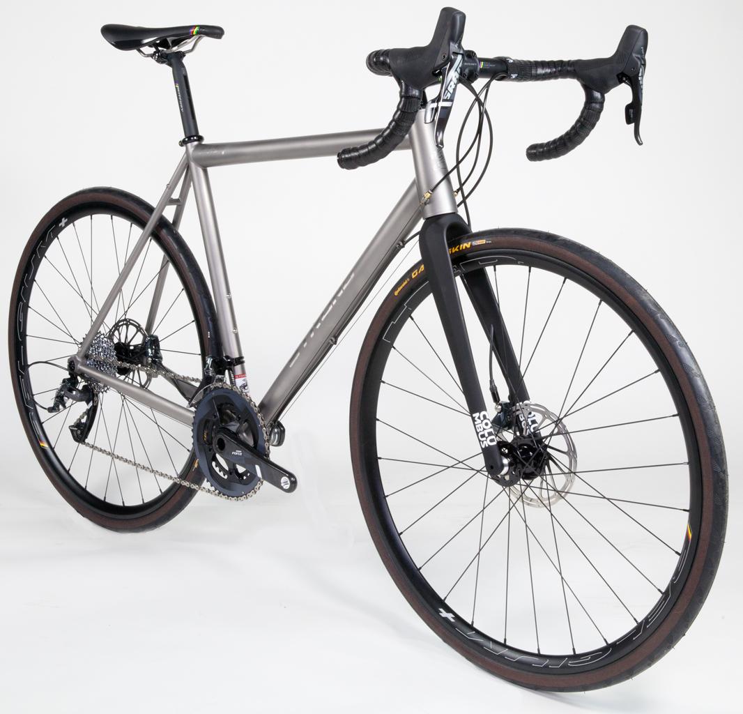 Strong Frames Ethan H Titanium Disc Road Bike