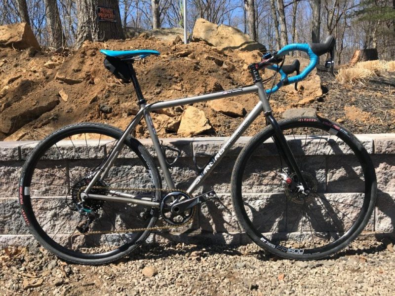 Not sure if you remember me, but I was the NYPD Detective that if I remember correctly, you designed and build one of the first Ti Strong CX Bikes with Disc Brakes. A long story, short, I really loved my custom Strong, but no longer race cross and wanted to venture into gravel genre so […]