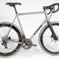 Custom Blend Titanium Road with Campy Record EPS and H11 Disc Brakes
