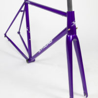 Custom Blend steel road frame. Tapered IS headtube, Columbus Life tubeset.