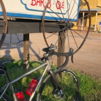 Dear Carl and Loretta,I love my Strong titanium road-cross bike. It's sturdy, fast, dependable and perfect for riding gnarly Texas roads. Every Wednesday a group meets at The Swingin' Door BBQ in Richmond, Texas. We do a 40-50 mile ride and return for lunch.  In addition to weekly group rides, my Strong frame has carried […]
